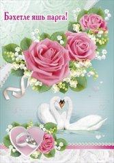 Поздравление на свадьбу подруги на татарском языке 8